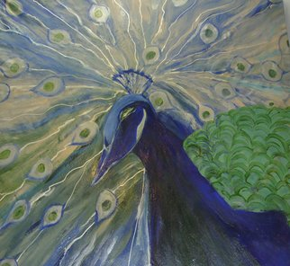 Artist: Duygu Kivanc - Title: Peacock - Medium: Oil Painting - Year: 2007