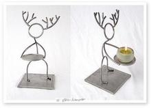 - artwork Circle_Heads_Deer-1101397320.jpg - 2004, Sculpture Steel, Figurative