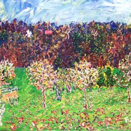 Beckys Wisconsin Cherry Orchard  By Jack Earley