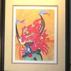 Jack Earley: 'Buffalo Dancer', 1990 Other Painting, Americana. Artist Description: All I know about this young dancer is that he is filled with humility and grace. He is painted with sumi- e inks on acid- free paper. Sumi- e inks is the medium used in many Asian paintings. The work is surrounded by acid- free material, giving it ...