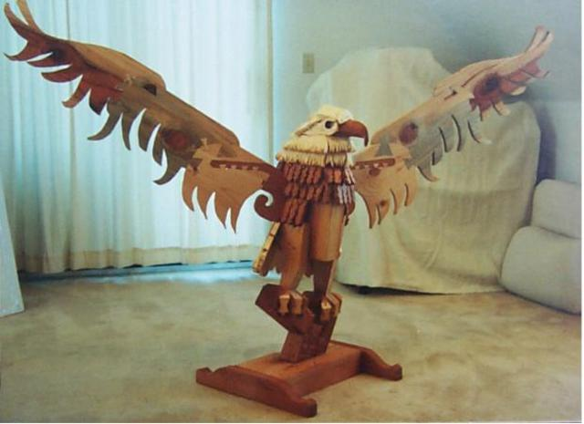 Jack Earley  'Great Eagle', created in 1991, Original Other.