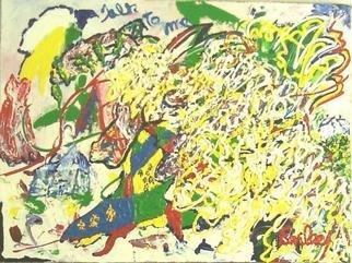 Artist: Jack Earley - Title: Talk to Me - Medium: Acrylic Painting - Year: 2004