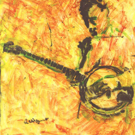 Banjo Player 1