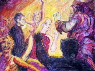 Artist: Richard Wynne - Title: Dance - Medium: Oil Painting - Year: 2014