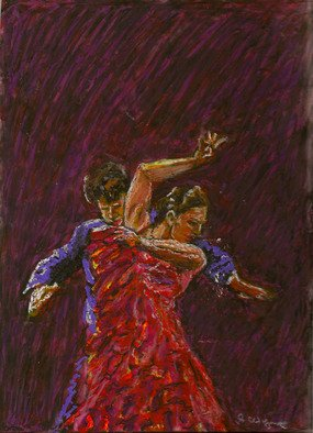 Richard Wynne Artwork Flamenco Dancers, 2008 Flamenco Dancers, Dance