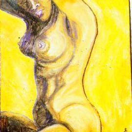 Richard Wynne: 'Mi Amor Mi Cortizon Byea Laeow', 1998 Oil Painting, Nudes. Artist Description: If you understand the title I don't need to say anymore. No it is not a portrait, the face was changed. ...