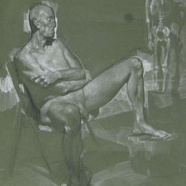 Seated Model, Eberhard Froehlich