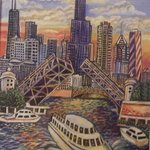 Chicago, City of Bridges By Glendon Mcfarlane