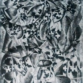 Edelweiss Calcagno Artwork Illusion, 2015 Etching, Conceptual