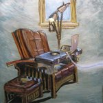 electric chair By Edem Elesh
