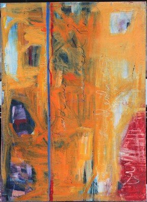 Edgar Bonne: 'Plato Cave', 2014 Mixed Media, Abstract.   Mixed Media on paper, pasted on composition board. ...