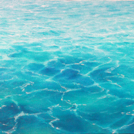 Edna Schonblum Artwork transparencie 38, 2016 Oil Painting, Seascape