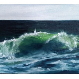 wave quarantine number 2  By Edna Schonblum