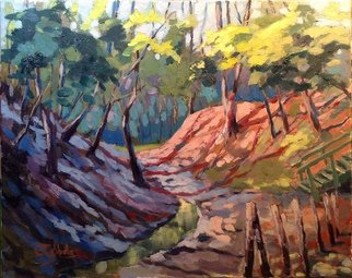 Artist: Edward Abela - Title: Glen Stewart Ravine Toronto - Medium: Oil Painting - Year: 2014