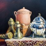 malta still life By Edward Abela