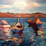 maltese boats By Edward Abela