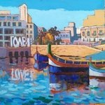 st julians malta By Edward Abela