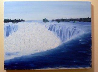 Edward Stanley Artwork Niagara Falls, 2004 Oil Painting, Impressionism