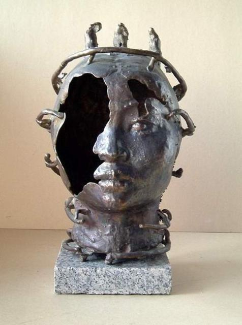 Artist Alexander Efimov. 'Not Complete' Artwork Image, Created in 2000, Original Sculpture Bronze. #art #artist