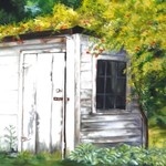country shed By Renee Pelletier Egan