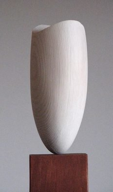 Lars Berg: 'Windbreath', 2012 Wood Sculpture, Gestalt.