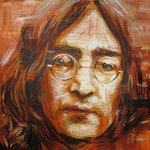 John Lennon Portrait One By Erick Nogueda