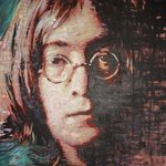 John Lennon Portrait Two By Erick Nogueda