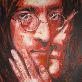 John Lennon And Yoko Ono Portrait Two, Erick Nogueda