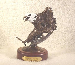 Bronze Sculpture by Cheryl Ehmann titled: Eagles Landing, 2004