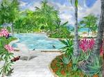 Poolside by the Seaside