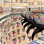Reflections In Venice, Eileen Seitz