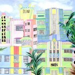 South Beach Art Deco By Eileen Seitz