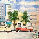 South Beach Then And Now, Eileen Seitz