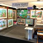 art booth exhibition By Eileen Seitz