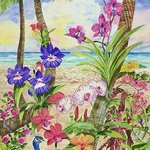 Life Amongst The Orchids, Eileen Seitz