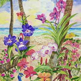 life amongst the orchids By Eileen Seitz