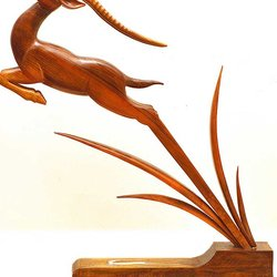 , Leaping Gazelle, Animals, $8,925