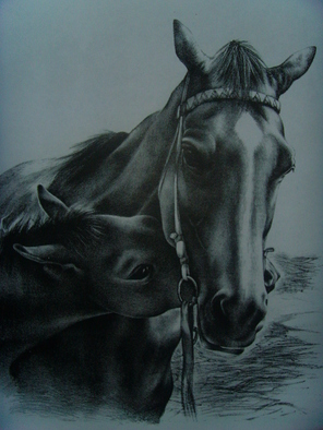 Animals Lithograph by Manana N Sakhvadze Kligman titled: Good Morning, created in 2007