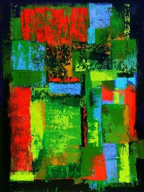Artist: Elizabeth Bogard - Title: Untitled Green  - Medium: Acrylic Painting - Year: 2013