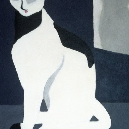 , Glamour Puss, Abstract Figurative, Request Price