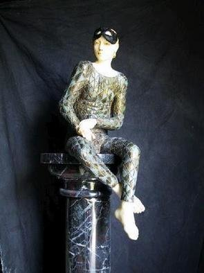 Mythology Mixed Media Sculpture by Andrew Wielawski Title: Ecce Omo, created in 2002