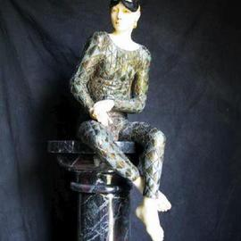 Andrew Wielawski Artwork Ecce Omo, 2002 Mixed Media Sculpture, Mythology