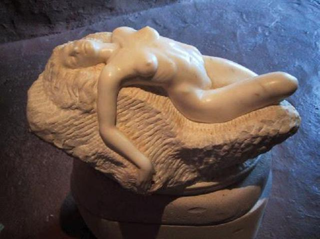 Andrew Wielawski: Nude, 2000 Stone Sculpture