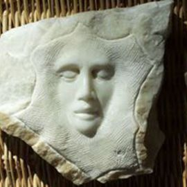 Andrew Wielawski: 'Trauma', 2016 Stone Sculpture, Representational. Artist Description: This is carved from a large chip of Statuario di Michelangelo, which came off a large block during shipping to the United States.  Its part of the collection of the Downing Museum in Kentucky. ...