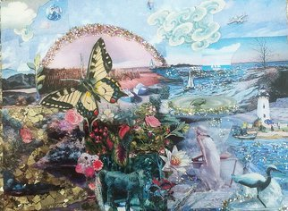Elena Mary Siff Artwork Island Dream, 2013 Island Dream, Surrealism