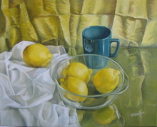 - artwork Yellow-1271765747.jpg - 2009, Painting Oil, Still Life