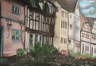 Eli Gross: 'Quedlinburg, Germany  ', 2014 Pastel, Landscape. Artist Description:  Pastelon Canson ...