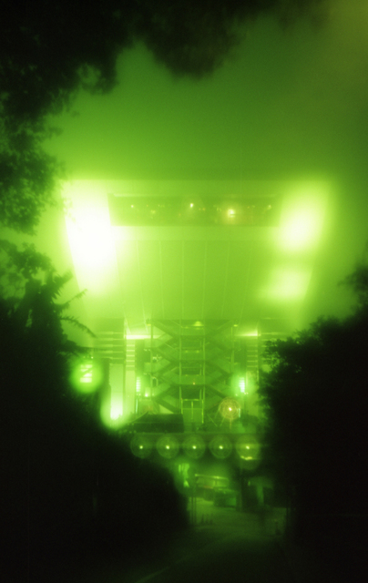 Andre Vesyelkin  'Glowing Green', created in 1999, Original Photography Other.