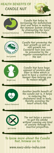 Elizabeth Anderson  'Health Benefits Of Candle Nut', created in 2017, Original Crafts.