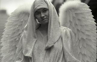 Ellen Rosenberg: 'Angel of New Orleans', 2005 Silver Gelatin Photograph, Americana. Artist Description: